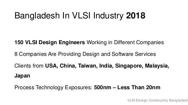 Vlsi Prospects In Bangladesh 2018
