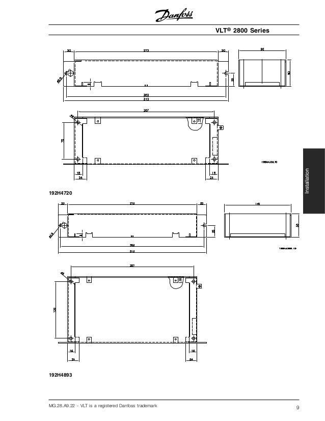 Инструкция danfoss vlt 2800
