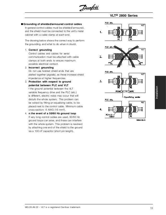 Pdf Manual Of Danfoss 2800