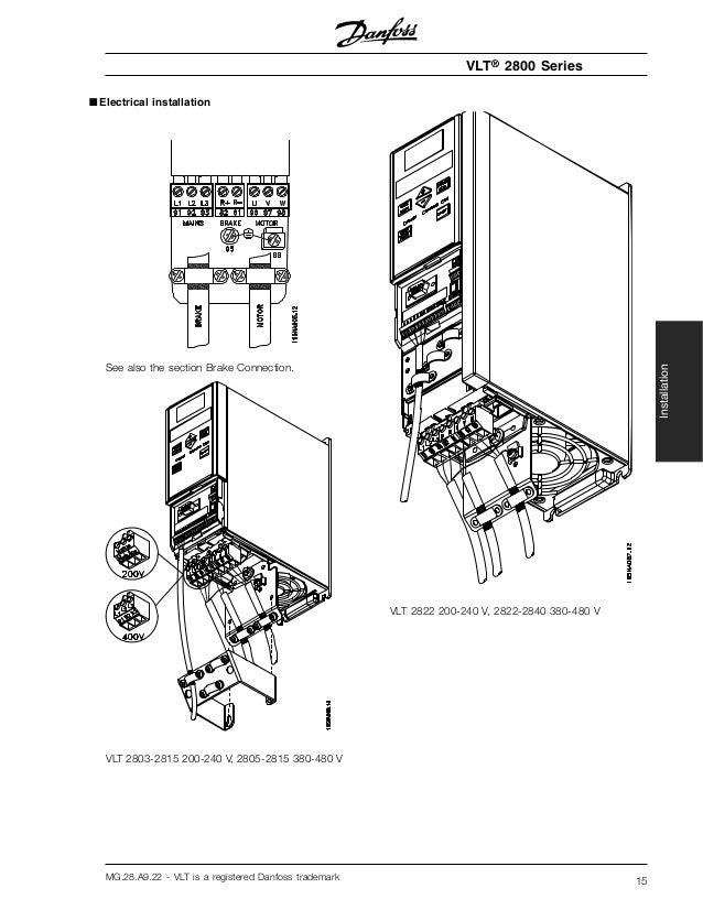Danfoss Drive Vlt 2800 Wiring Diagram - Somurich.com