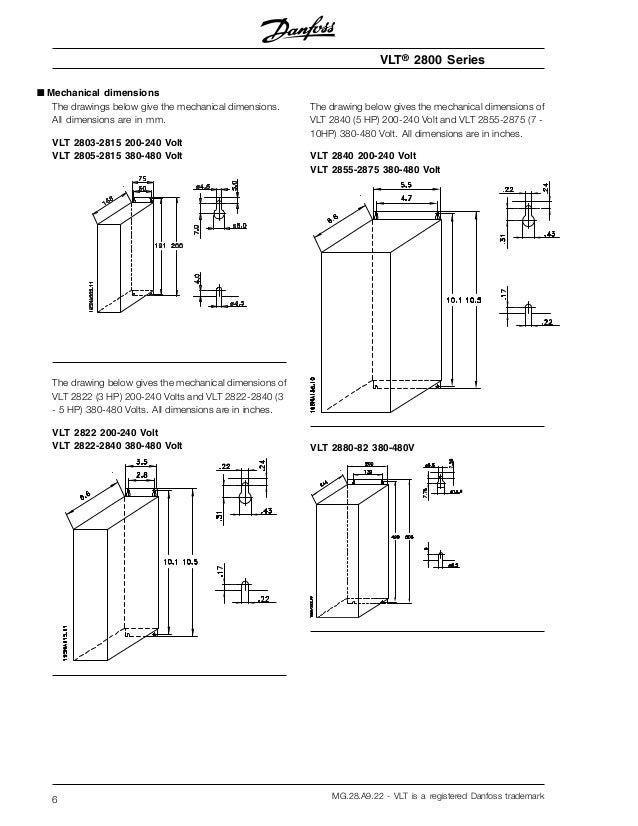 manual variador danfoss vlt 2800 on hobart wiring diagram, abb wiring  diagram, panasonic wiring
