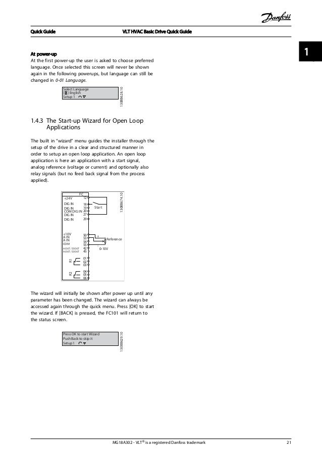 danfoss vlt hvac drive fc 101 manual