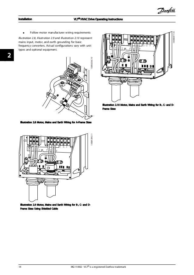 danfoss vlt 6000 hvac wiring diagram