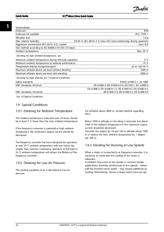 vlt micro drive fc51 manual