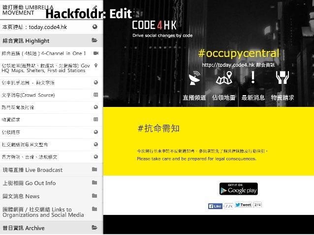 Hackfoldr: Edit