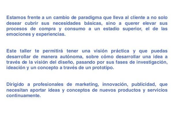 Vm17 innovación centrada usuario. Design Thinking. Slide 2