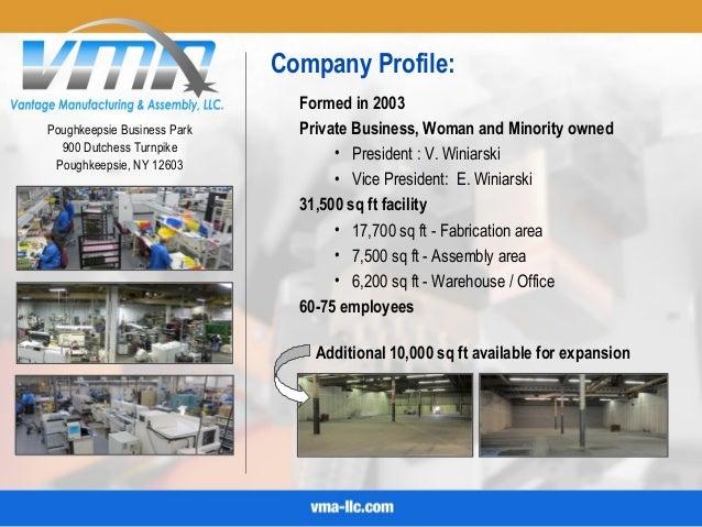vma company powerpoint presentation