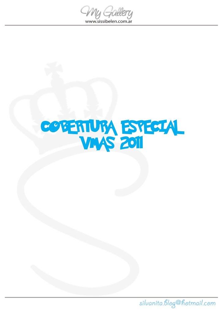 COBERTURA ESPECIAL     VMAS 2011