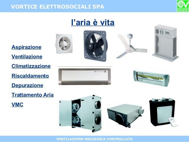 Intervento di roberto perego vortice elettrosociali spa - Ventilazione forzata bagno ...