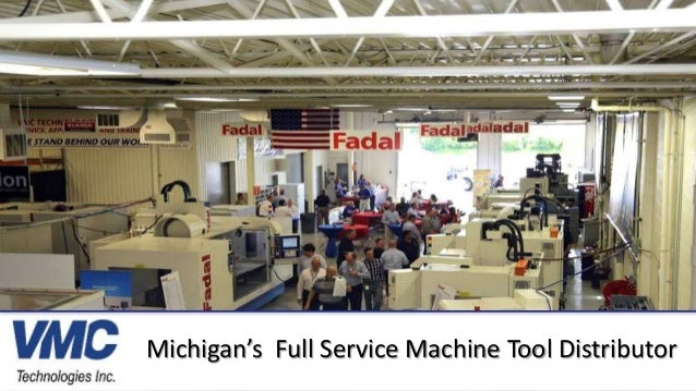 Michigan's Full Service Machine Tool Distributor