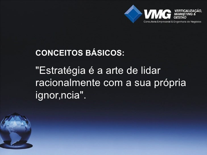 VMG - Palestra de Plano De Negócios Slide 3