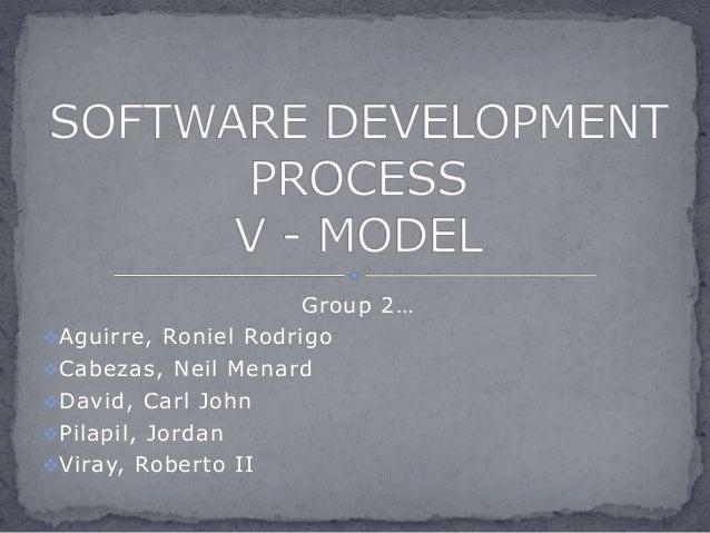 Group 2… Aguirre, Roniel Rodrigo Cabezas, Neil Menard David, Carl John Pilapil, Jordan Viray, Roberto II