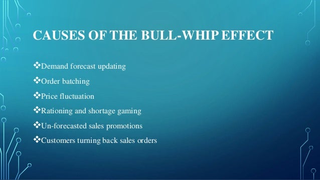 ' bull whip effect causes impact Equal in our example given in fig 1 a causes sustaining the bullwhip effect  there are several consequences of the bullwhip effect in a few words, this effect .