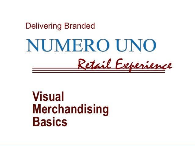 Visual  Merchandising  Basics