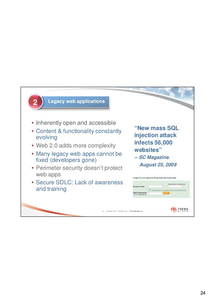 Trend Micro - Virtualization and Security Compliance