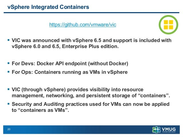Container and Cloud Native Application: What is VMware doing