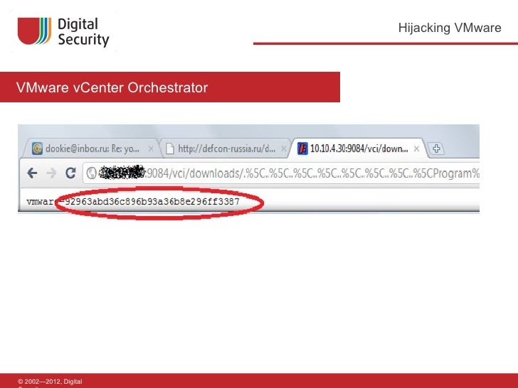 How to hack VMware vCenter server in 60 seconds