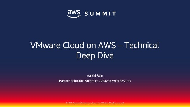 VMware Cloud on AWS – Technical Deep Dive pdf
