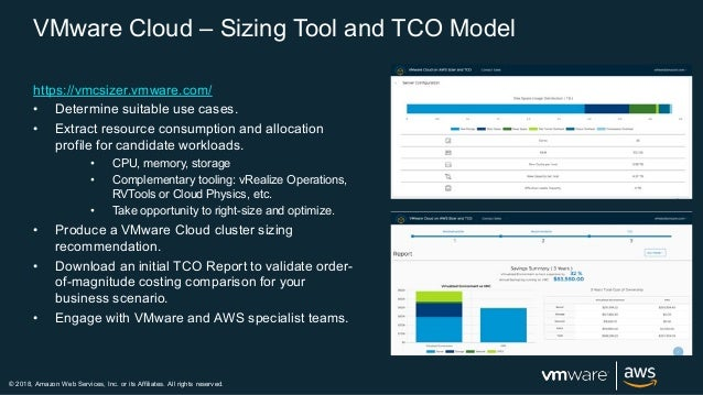VMware Cloud on AWS - Webinar - 2018