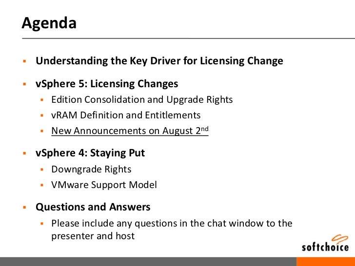 You voiced your concerns. VMware listened: Major Adjustments to vSphere 5 licensing Slide 3