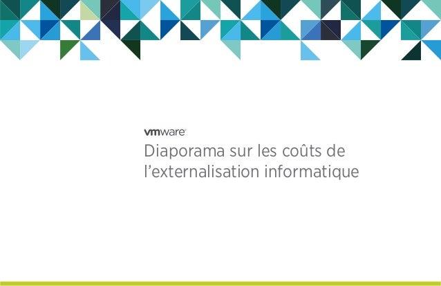 Diaporama sur les coûts de l'externalisation informatique
