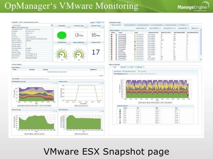 VMware monitoring must haves