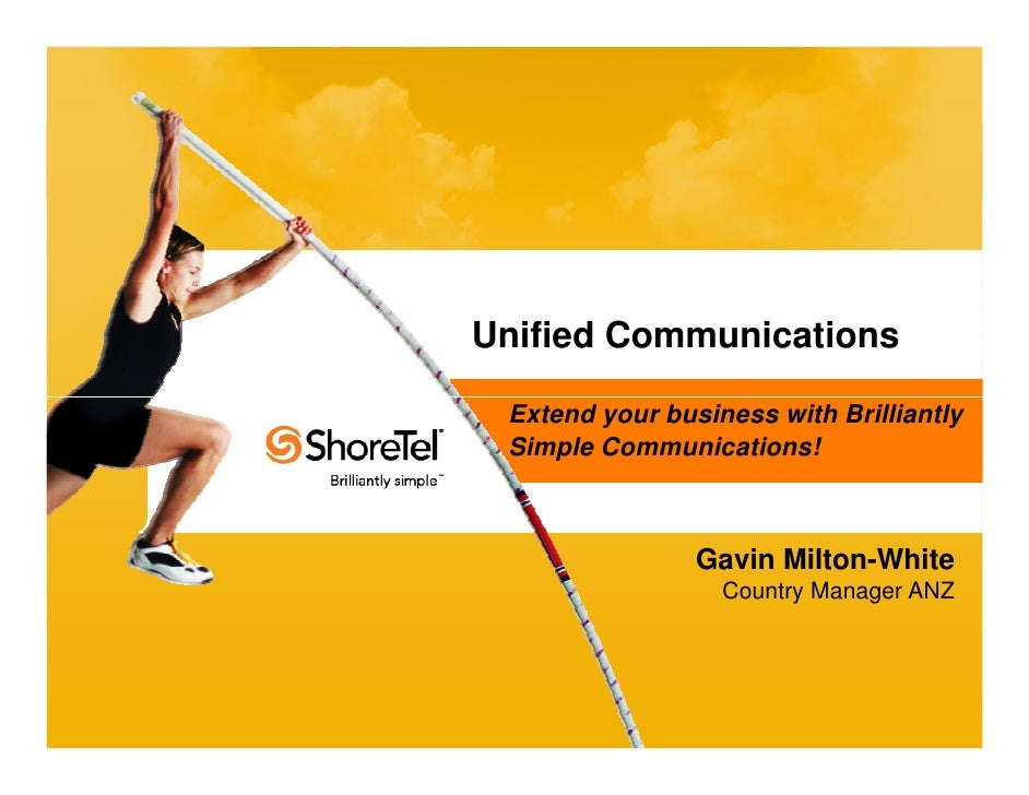 Unified Communications                                                          Extend your business with Brilliantly     ...