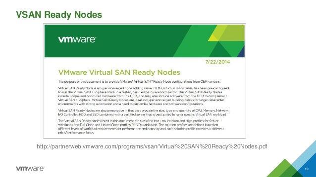 VSAN Ready Nodes 10  http://partnerweb.vmware.com/programs/vsan/Virtual%20SAN%20Ready%20Nodes.pdf