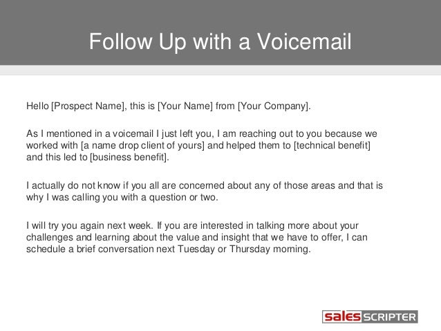 How to Deal with Voicemail During Sales