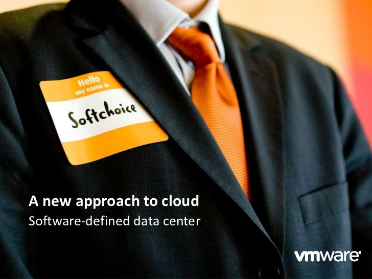 A new approach to cloudSoftware-defined data center