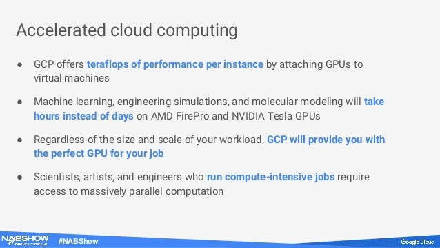 Supercharge performance using GPUs in the cloud