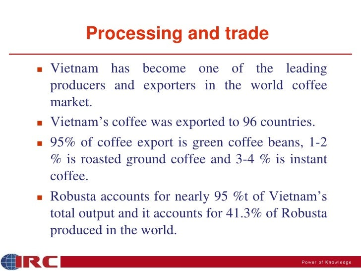 Coffee trading strategies
