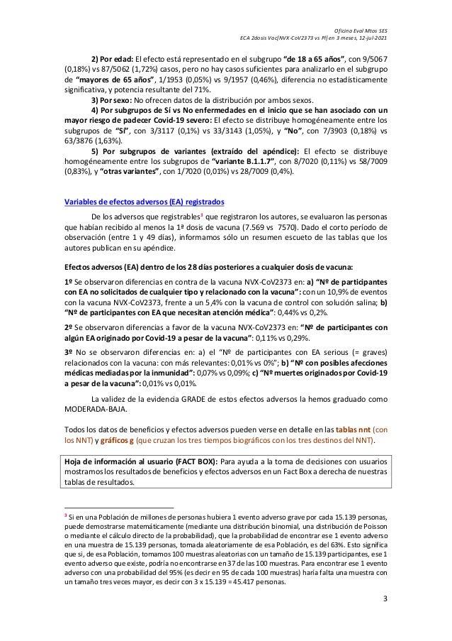 Vn eca vacuna covid 19 [nvx-co v2373 novavax vs pl] Slide 3