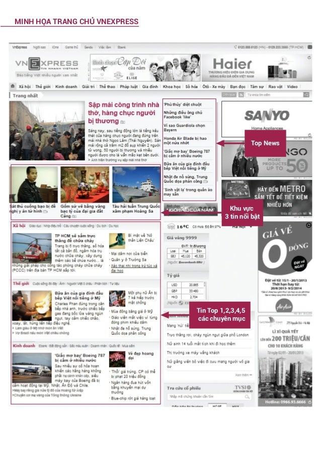 MINH HỌA TRANG CHỦ VNEXPRESS  Top News  Khu vực 3 tin nổi bật  Tin Top 1,2,3,4,5 các chuyên mục