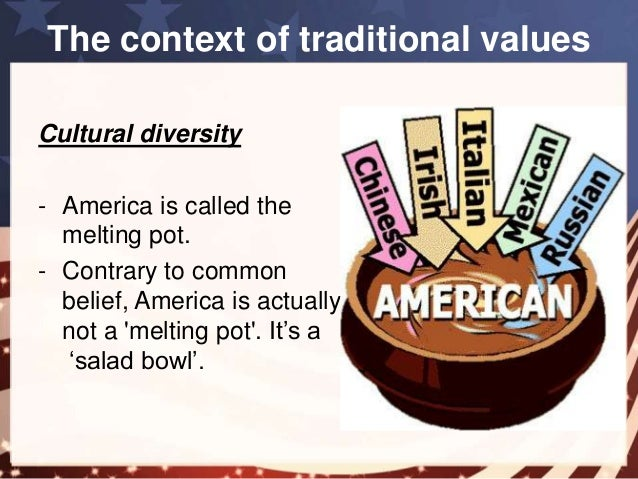 america is a salad bowl The take away quote from the santorum event at the college convention concord nh 2012.