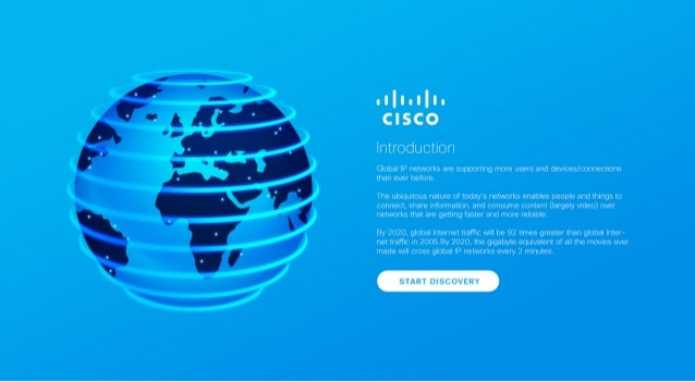 [Infographic] Cisco Visual Networking Index (VNI) Forecast, 2015-2020