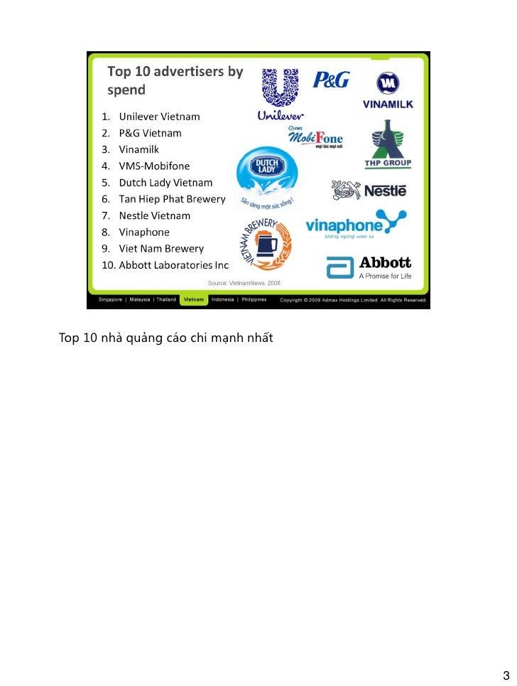 Vietnam digital marketing overview 2009 Slide 3