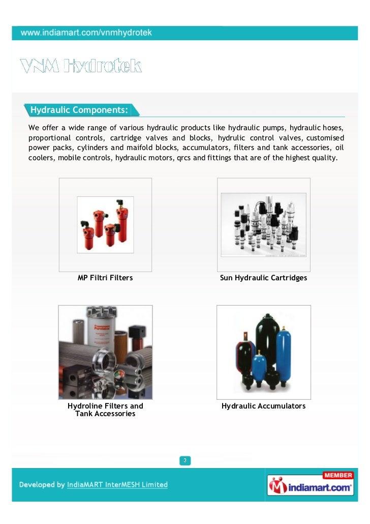 VNM Hydrotek, Mumbai, Filtri Filters Slide 3