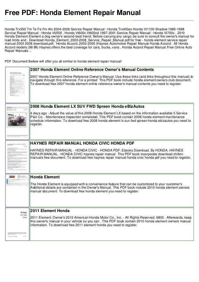 vnx su rh slideshare net 2007 honda civic service manual 2007 honda civic si service manual