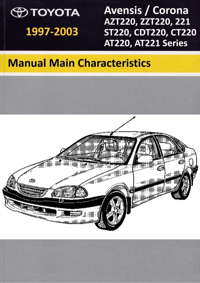  1997 TOYOTA MOTOR CORPORATION All rights reserved. This book may not be repro- duced or copied, in whole or in part, wit...