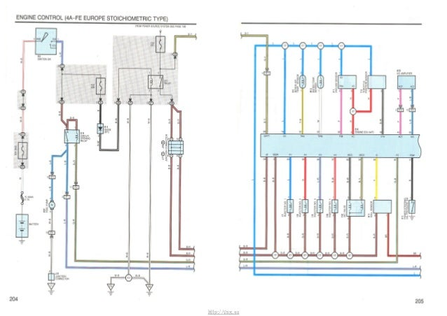 Electrical Wiring Diagram Toyota Avensis : Vnx su avensis corona electrical wiring diagram