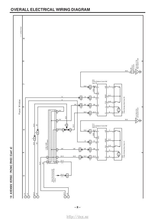 vnx su avensis verso picnic ewd 568e 450e rh slideshare net Toyota Tacoma Trailer Wiring Diagram Toyota Car Stereo Wiring Diagram