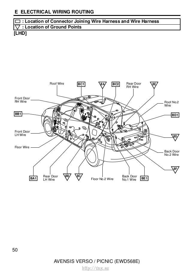 55: Toyota Picnic Fuse Box Diagram At Johnprice.co