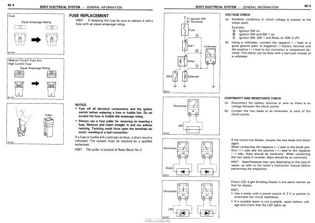 http vnxsu    Electrical       Wiring    Diagrams Toyota    Carina       E