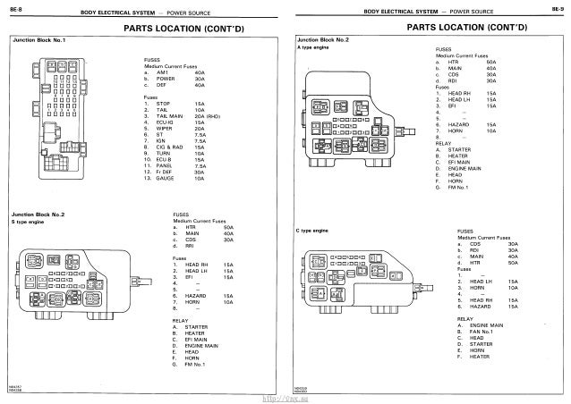 Excellent Vnx Su Electrical Wiring Diagrams Toyota Carina E Corona Wiring Cloud Hisonuggs Outletorg