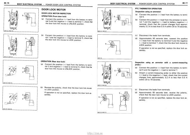 Toyota Carina E Electrical Wiring Diagram - Wiring Diagram •