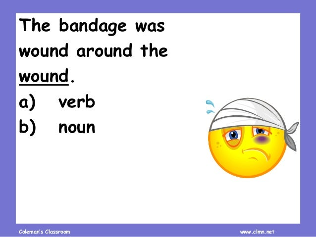 Homonym Recognition and Practice Slide 2