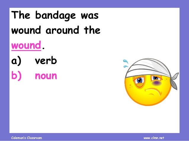 Homonym Recognition and Practice Slide 3