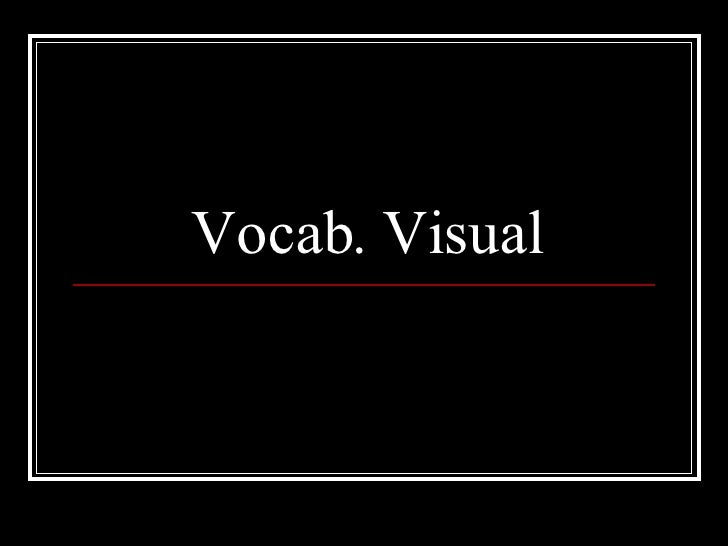 Vocab. Visual