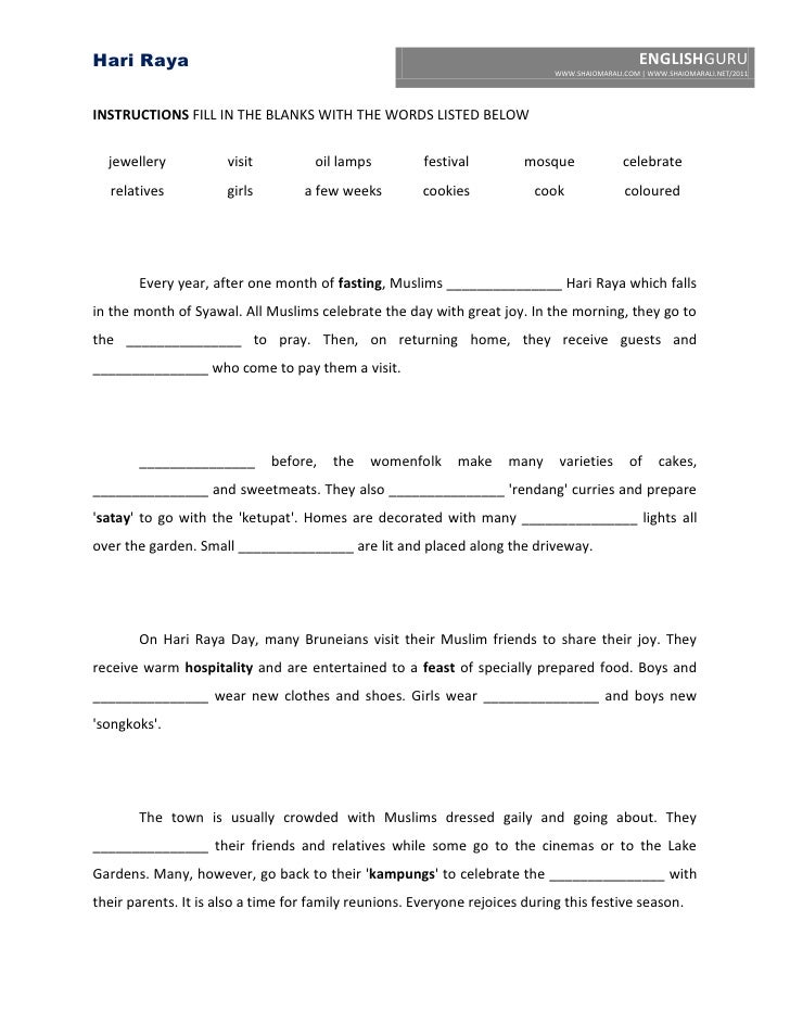english essay about hari raya aidilfitri Selamat hari raya aidilfitri sms wishes quotes in malay, english muslims community in all over the world celebrate hari raya aidilfitri and hari raya aidilftri is also known as hari raya pusa it is necessary for muslims community to fast during the month of ramadan or roza.